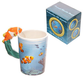 Mug nemo poisson clown