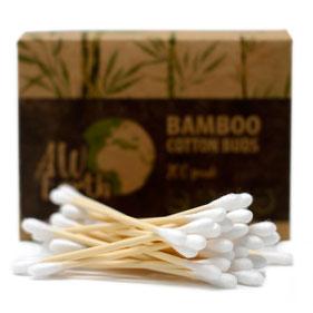 Coton tige bambou