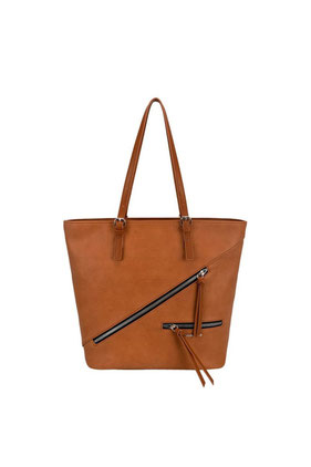 6436 Sac cabas David Jones cognac