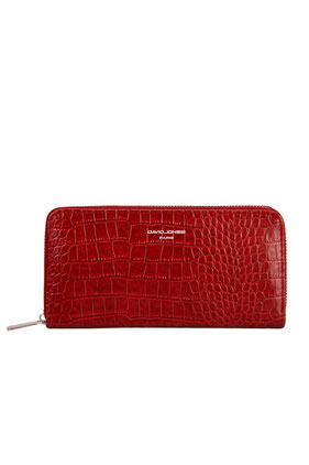 Portefeuille David Jones P102 rouge
