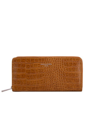Portefeuille David Jones P102 cognac