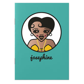 ICONS ICONES JOSEPHINE BAKER ILLUSTRATION CAHIER / CREATION ORIGINALE © Stephanie Gerlier / T FOR TIGER