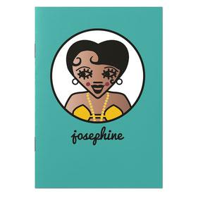 "CAHIER ""JOSEPHINE""  copyright Stephanie Gerlier 2018 / T FOR TIGER"