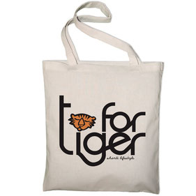 TOTE BAG by T FOR TIGER_Copyright : Stephanie Gerlier