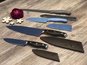 Verschiedene Messer von Pampered Chef