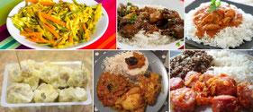 Cuisine créole - le petit voyageur