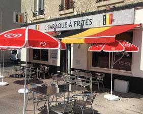 L'baraque à frites Chalons en Champagne -le petit voyageur