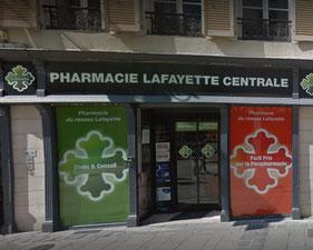 Pharmacie Lafayette Centrale Beaudoin Chalons en Champagne - le petit voyageur