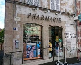 Pharmacie Notre Dame Chalons en Champagne - le petit voyageur