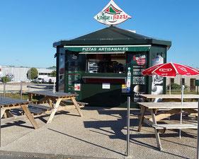 Le Kiosque à Pizzas Fagnières à Châlons en Champagne - le petit voyageur