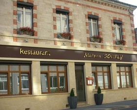 Restaurant Maison Souply Chalons en Champagne - le petit voyageur