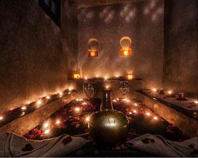 Les bains de l'Alhambra Marrakech - Maroc on Point