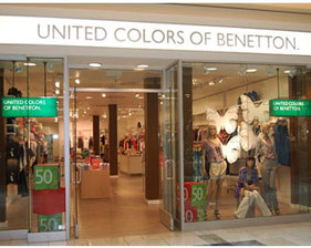 Benetton  Marrakech - Maroc on point