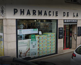 Pharmacie de La Marne Chalons en Champagne - le petit voyageur