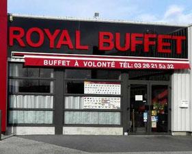 Royal Buffet Chalons en Champagne - le petit voyageur