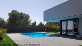 Proyectos de vivienda unifamiliares, Rodrigo Pérez Muñoz, Arquitecto