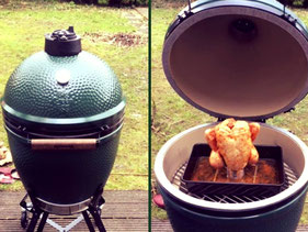 Del Italia barbecue - green egg