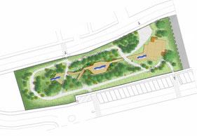 Progetto di riqualificazione di un parco pubblico