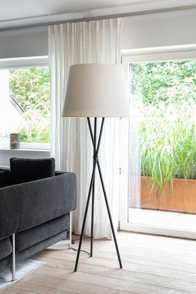 Luftreiniger Stehlampe Ozonos Hailey Creme