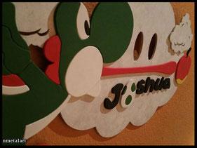 WoodnMetalART Scrollsaw Dekupiersäge Holzbild Joshua Yoshi