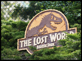 WoodnMetalART Scrollsaw Holzlogo The Lost World Jurassic Park