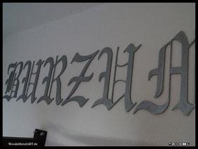 WoodnMetalART Scrollsaw Dekupiersäge Holzlogo Burzum Black Metal