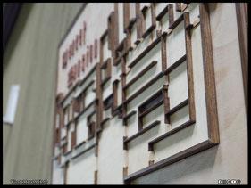 WoodnMetalART Scrollsaw Dekupiersäge Holzbild Spencer Mansion 1F Resident Evil