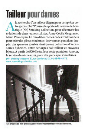 No Smoking Collection ur L'Express magazine Paris