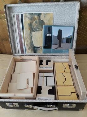 Spielkoffer zur Kunst von Matias Spescha