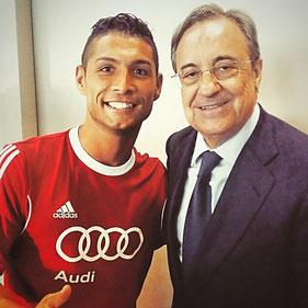 Cristiano Ronaldo Double / Florentino Perez