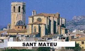 Sant Mateu pueblo de Castellón, Comunidad Valenciana.