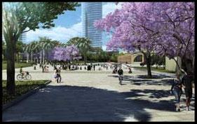 El Parque Central es un proyecto de la paisajista americana Kathryn Gustafson y será uno de los más sostenibles de Europa.
