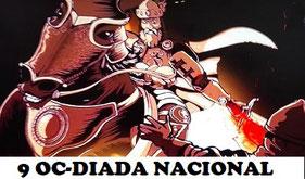 Diada o Día de la Patria Valenciana, se celebra cada 9 de octubre para conmemorar la entra de Jaime i de Aragón en València.