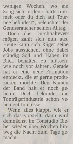 Offenbach Post, 26. April 2010