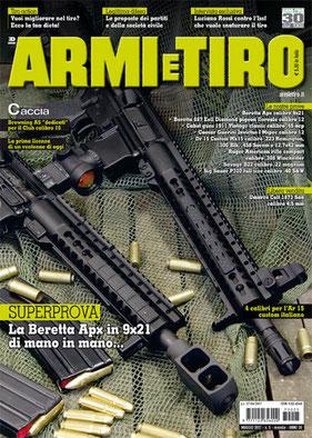 Armi e Tiro di Maggio 2017 con la Cover di Roberto Vezzoli