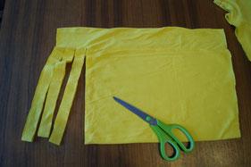 biberette - T Shirt Garn 2. Schritt