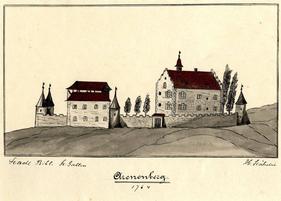 der Arenenberg 1774