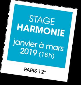 Stage initiation à l'harmonie avec Laura Littardi