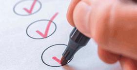 Arbeiten Sie Ihre Checkliste für die Nachfolge mit unserem Nachfolge-Check ab