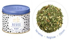 """Infusion """"Rêves"""" au délicieux mélange de verveine, réglisse et citron"""