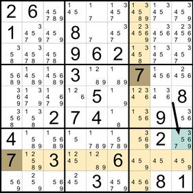 Sudoku Lösungstechniken © Rätselbüro Martin Simon