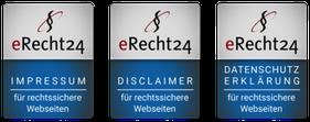 Siegel Datenschutz, Impressum und Disclaimer
