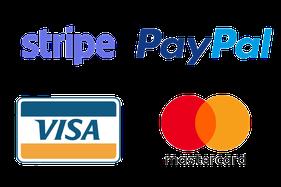 paiement avec stripe ou paypal visa mastercard accepté hamac hamaxicain