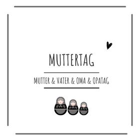 Muttertag-Vatertag-Kerzen-Geschenke