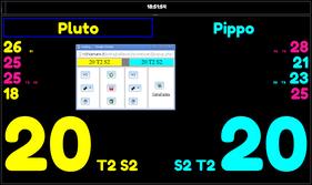 Tabellone2.0 con popup dei comandi separato