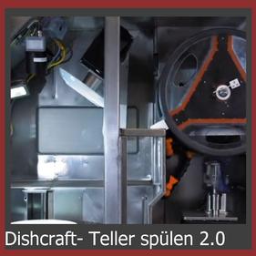 Dishcraft Teller reinigen und spülen