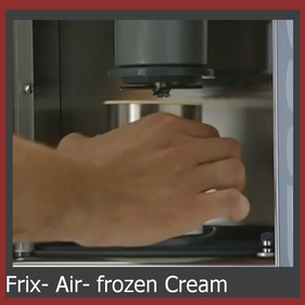 frix air frozen cream
