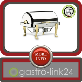 53cm x 32,5cm Chafing Dish GN 1/1 mit Rolldeckel