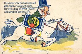 Happy Thought - 1904 - vuitton publicité