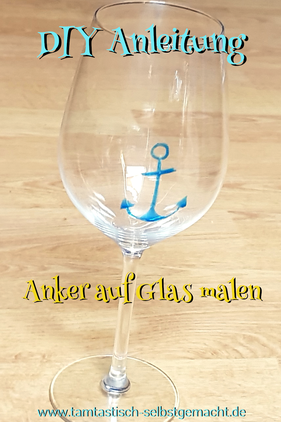 mit-Anker-bemaltes-Windlicht-Text-im-Bild:DIY-Anleitung-Anker-auf-Glas-malen